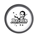 Barack us with your caucus Wall Clock