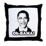 Oh-BAMA Throw Pillow