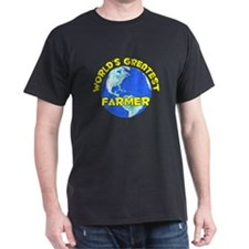World's Greatest Farmer (D) T-Shirt