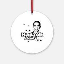 Barack Steady Ornament (Round)