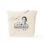 Barack it all night long Tote Bag