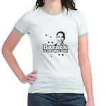 Barack it all night long Jr. Ringer T-Shirt