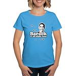 Barack it all night long Women's Dark T-Shirt