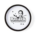 Barack the White House Wall Clock