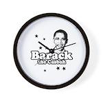 Barack the Casbah Wall Clock