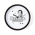 Barack the people Wall Clock