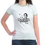 Barack the people Jr. Ringer T-Shirt