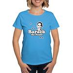 Barack the people Women's Dark T-Shirt