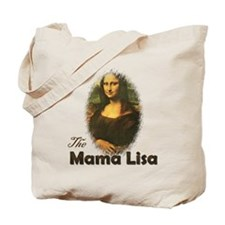 Mama Lisa Tote Bag