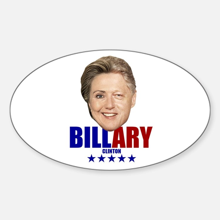Billary Oval Decal