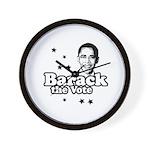 Barack the vote Wall Clock
