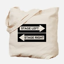 Stage Left Tote Bag