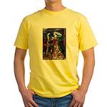 Tristan & Isolde Husky Yellow T-Shirt