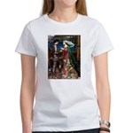 Tristan & Isolde Husky Women's T-Shirt