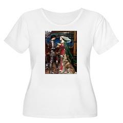 Tristan & Isolde Husky T-Shirt