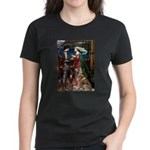 Tristan & Isolde Husky Women's Dark T-Shirt