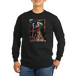 Tristan & Isolde Husky Long Sleeve Dark T-Shirt