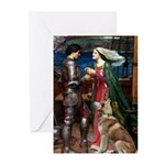Tristan & Isolde Husky Greeting Cards (Pk of 20)