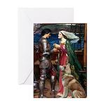 Tristan & Isolde Husky Greeting Card