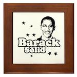 Barack Solid Framed Tile