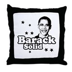 Barack Solid Throw Pillow