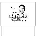 Barack Solid Yard Sign