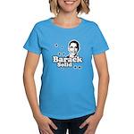 Barack Solid Women's Dark T-Shirt