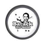 Barack the mold Wall Clock