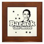 Barack the mold Framed Tile
