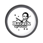 Barack my world Wall Clock
