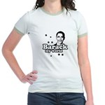 Barack my world Jr. Ringer T-Shirt