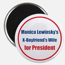 Monica's X - Magnet