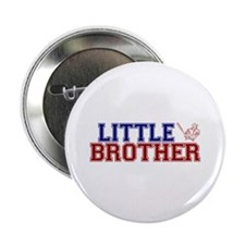 "Little Brother Baseball 2.25"" Button"