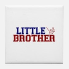 Little Brother Baseball Tile Coaster