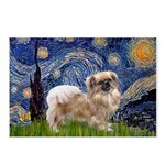 Starry / Tibetan Spaniel Postcards (Package of 8)