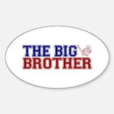 The Big Brother Baseball Oval Decal