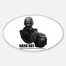 Nautidiver - Hardhat Oval Decal