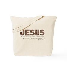 Jesus - My rock Tote Bag