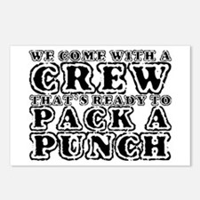 We Come with a Crew Postcards (Package of 8)