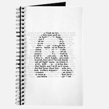Jesus - John 3:16 - 18 Journal