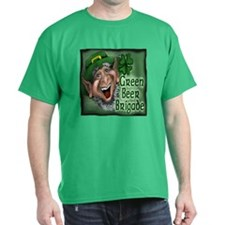 Unique Green brigade T-Shirt