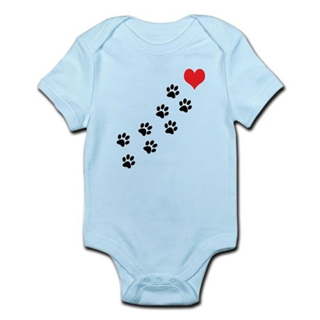 Paw Prints To My Heart Infant Bodysuit