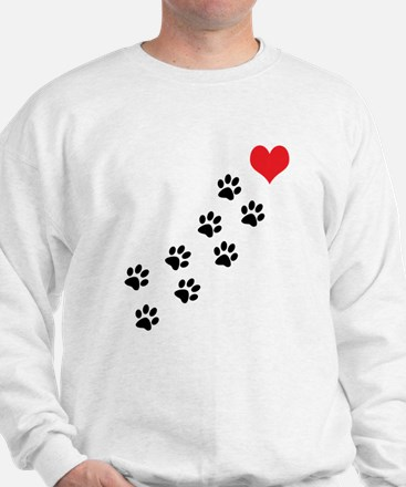 Paw Prints To My Heart Jumper