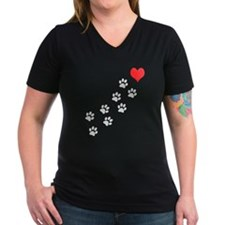 Paw Prints To My Heart Shirt
