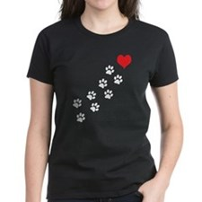 Paw Prints To My Heart Tee