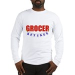 Retired Grocer Long Sleeve T-Shirt
