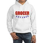 Retired Grocer Hooded Sweatshirt