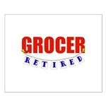 Retired Grocer Small Poster