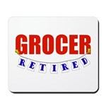 Retired Grocer Mousepad