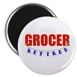 Retired Grocer Magnet